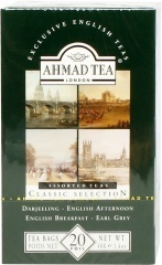 Ahmad Tea Herbata czarna aromatyzowana Selection of Black Teas