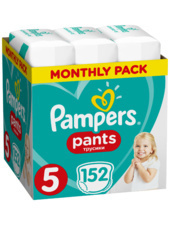 Pampers PAMPERS Pants 5 Maxi 152szt Pieluchomajtki