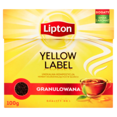 Lipton Yellow Label Herbata czarna granulowana