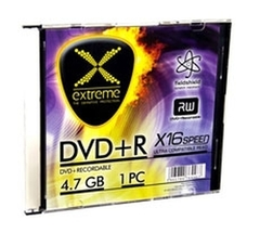 EXTREME DVD+R SLIM CASE1