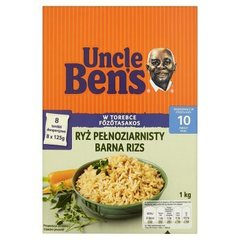 Uncle Ben's Ryż pełnoziarnisty 1 kg (8 torebek)